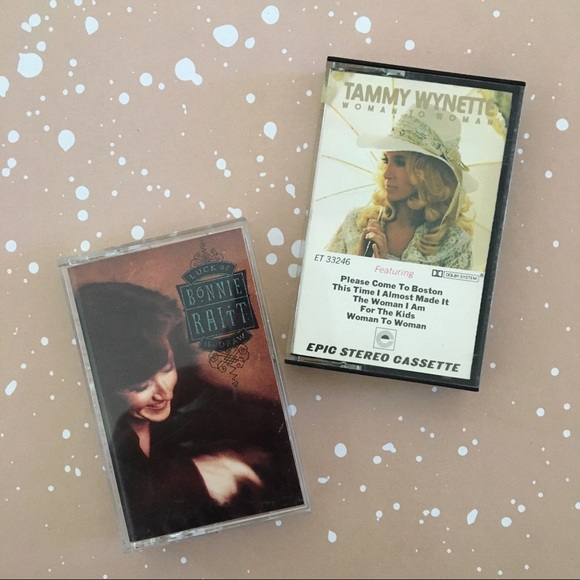 Other - Classic Country Cassettes - Bonnie + Tammy